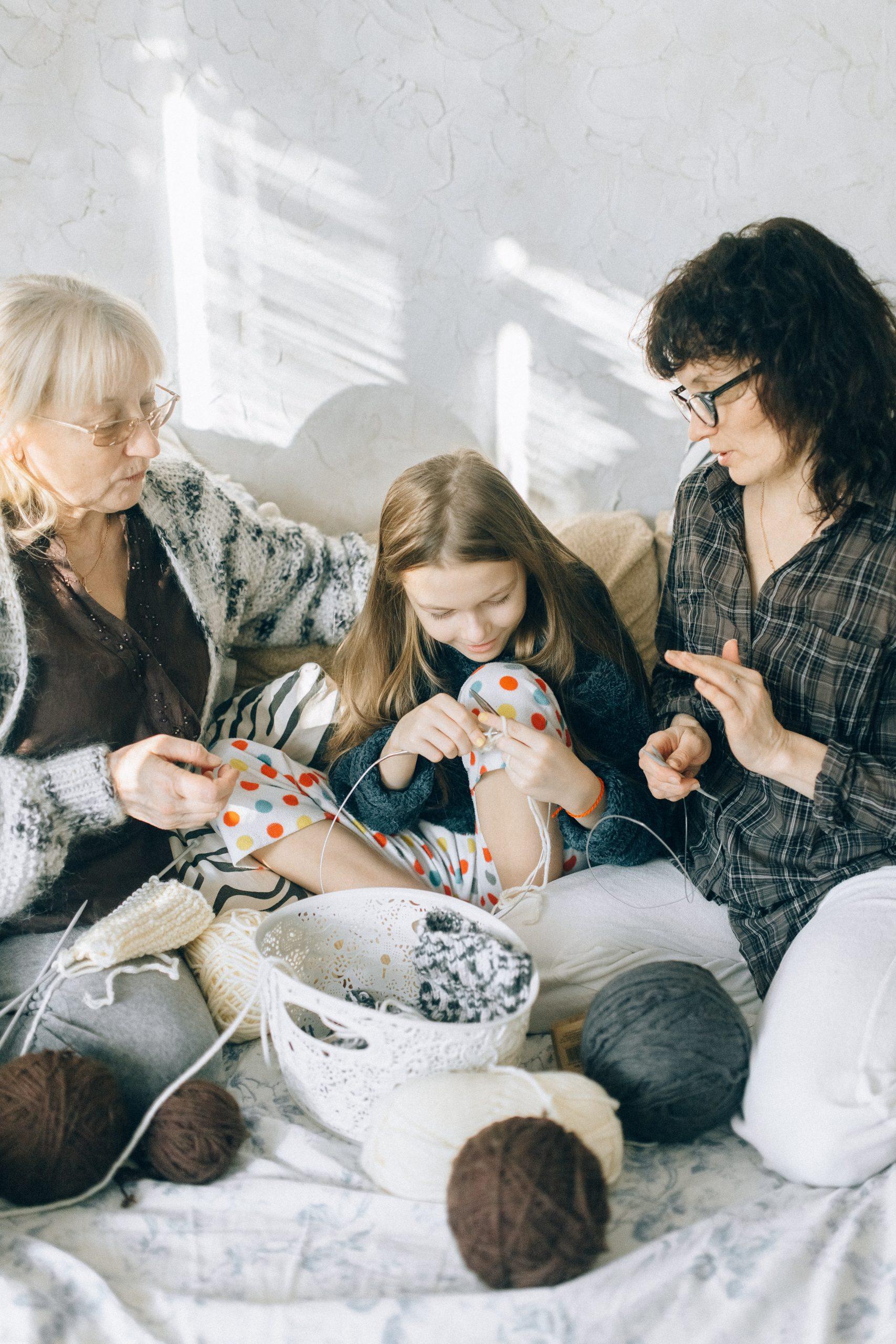 Grandmother, Daughter, Granddaughter