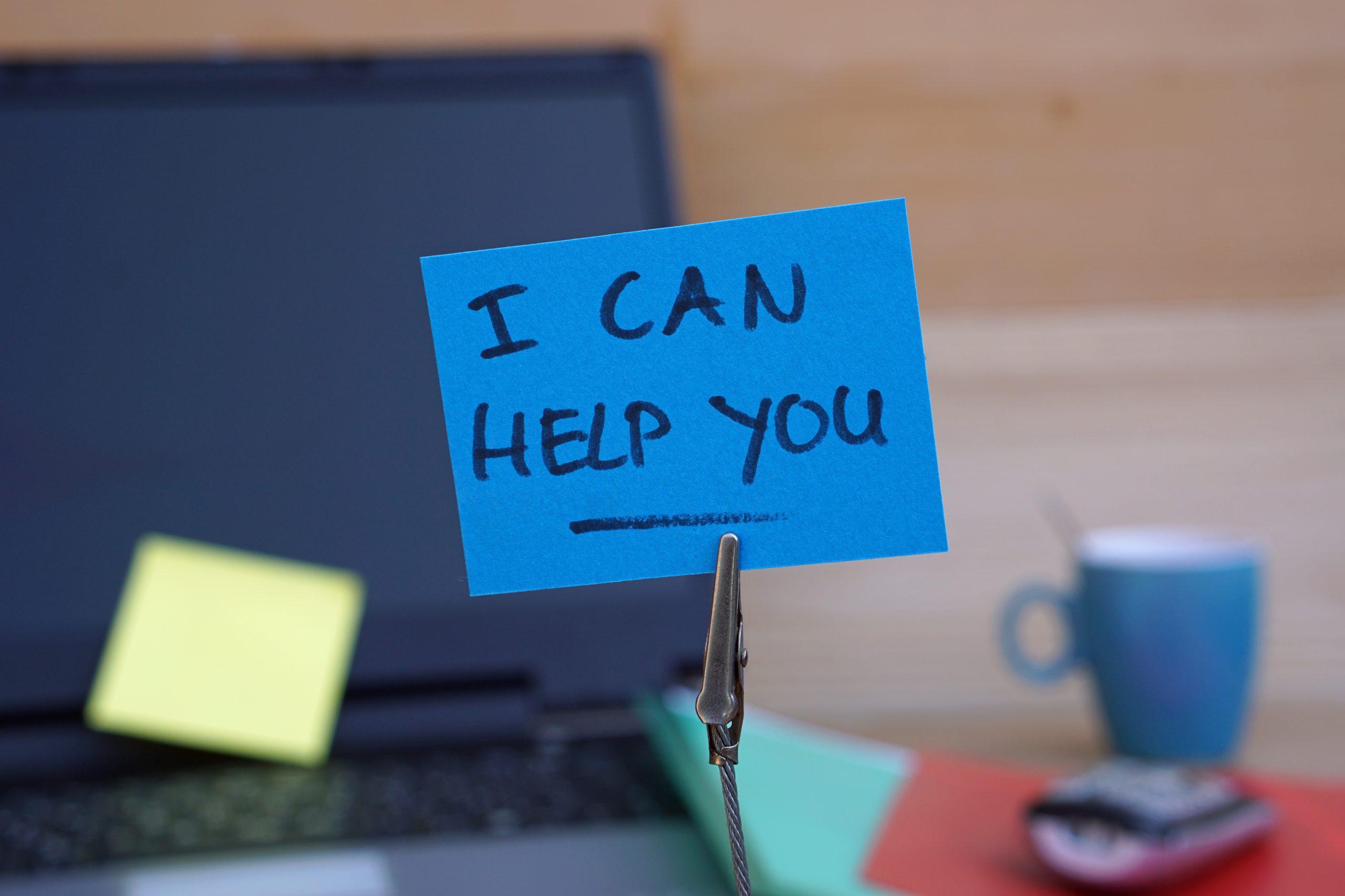 I can help